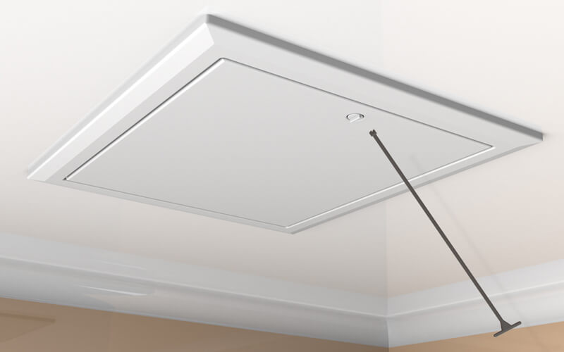 Pull Down Attic Trap