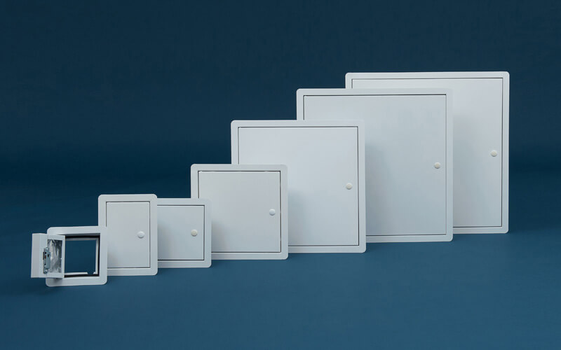 Slim Metal Access Panels