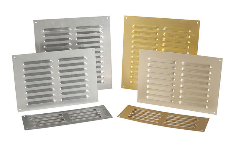 ALUMINIUM ANODISED LOUVRE GRILLE - ICON Building Products