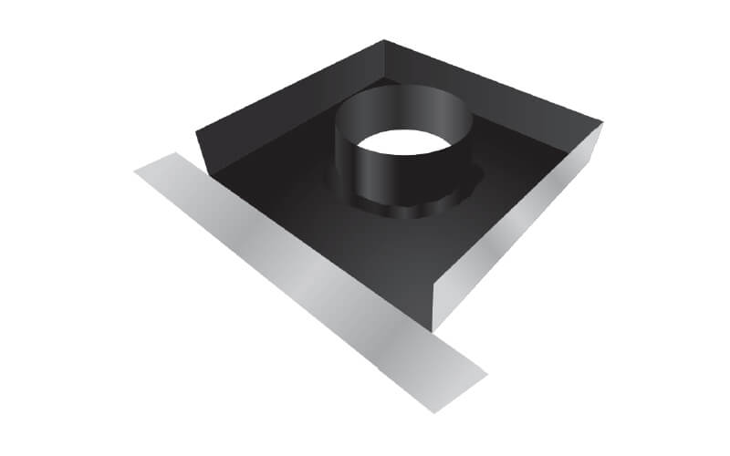 Lead Chimney Trays Icon Building Products