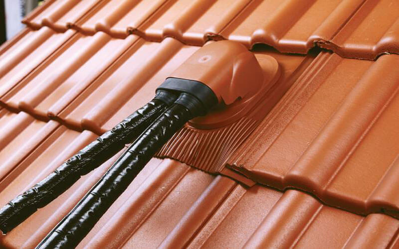 Venduct Duo Solar Thermal Outlet