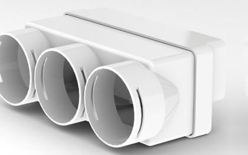Semi-rigid duct systems